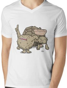 Number 74, 75 and 76 Mens V-Neck T-Shirt