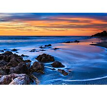 Florida Beach Sunset Photographic Print