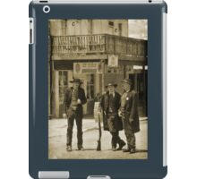 Old West Street Scene iPad Case/Skin