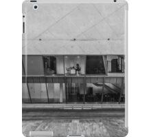 At work, at the Casa da Musica, Porto, Portugal iPad Case/Skin