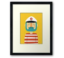 Ahoy Sailor Framed Print