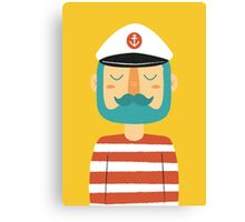 Ahoy Sailor Canvas Print