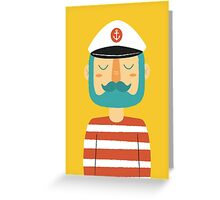 Ahoy Sailor Greeting Card