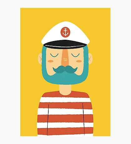 Ahoy Sailor Photographic Print