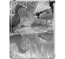 Two Ducks on the waterside iPad Case/Skin
