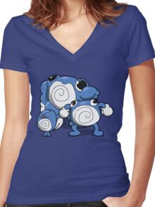 Number 60, 61 and 62 Women's Fitted V-Neck T-Shirt