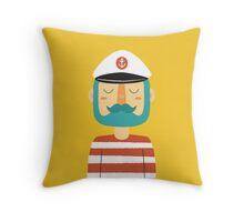 Ahoy Sailor Throw Pillow
