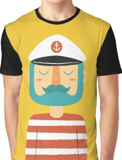 Ahoy Sailor Graphic T-Shirt