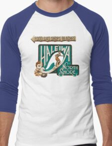 North Shore Traffic Sign MAN Men's Baseball ¾ T-Shirt