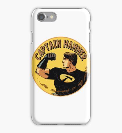 capt hammer iPhone Case/Skin