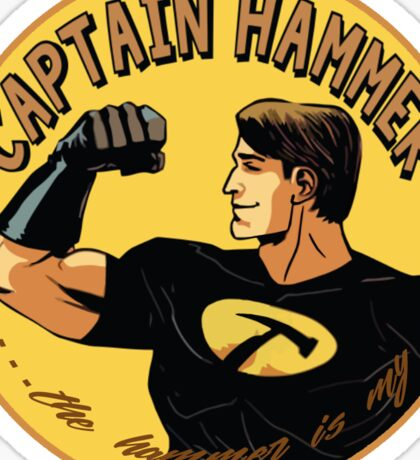 capt hammer Sticker