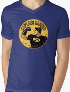 capt hammer Mens V-Neck T-Shirt