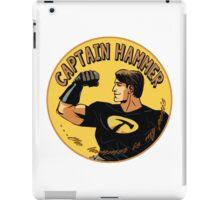 capt hammer iPad Case/Skin
