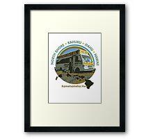 Famous Kahuku Shrimp Truck Framed Print