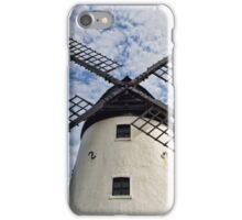 Lytham Windmill With Puffy Clouds iPhone Case/Skin