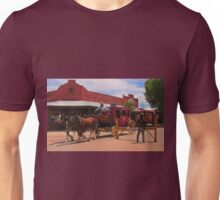 Stagecoach in Tombstone  Unisex T-Shirt