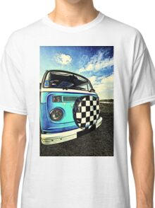 Chequered Blue Classic T-Shirt
