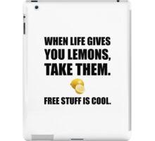 Free Lemons iPad Case/Skin
