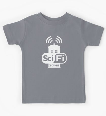 Sci-Fi ZONE White Kids Clothes