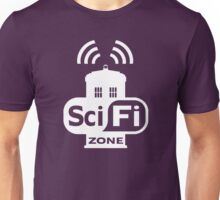 Sci-Fi ZONE White Unisex T-Shirt