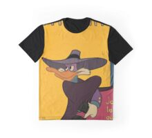 Myster Mask (Darkwing Duck) Graphic T-Shirt