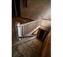 Abandoned 615 Main Stairs - Fulk-Arkansas Democrat Building  Photographic Print