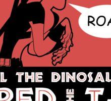 Feard The T-Rex Sticker