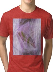 Purple abstract background Tri-blend T-Shirt