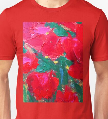 Roses For You by Susi Franco Unisex T-Shirt