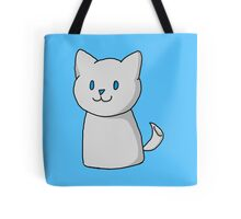 Marshmallow Kitty Tote Bag