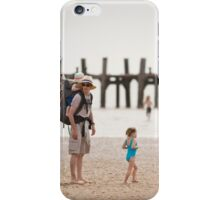 Family On Beach iPhone Case/Skin