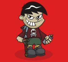 Bad Boy Cartoon Baby Tee