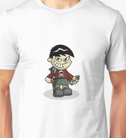 Bad Boy Cartoon Unisex T-Shirt