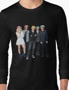 R5 Flower Crown Group Shot Long Sleeve T-Shirt