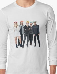 R5 Flower Crown Group Shot Long Sleeve T-Shirt