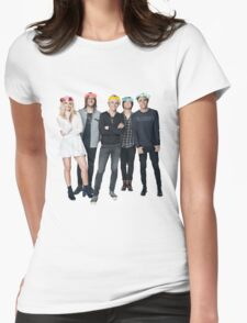 R5 Flower Crown Group Shot Womens Fitted T-Shirt