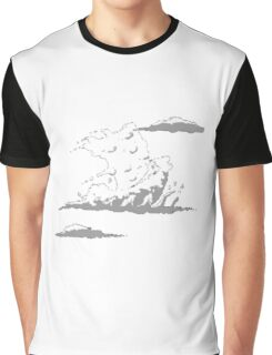 Boat Cloud Graphic T-Shirt