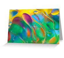 Swirls of Color Greeting Card