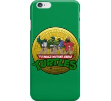Teenage Mutant Cholo Turtles - Sewer version iPhone Case/Skin