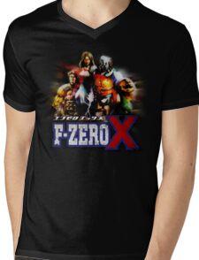 F-ZERO X Mens V-Neck T-Shirt