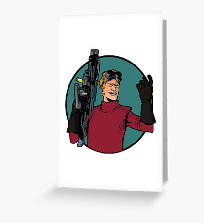 dr h Greeting Card