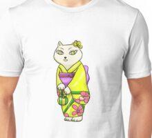 Lady cats in Kimono 2 Unisex T-Shirt