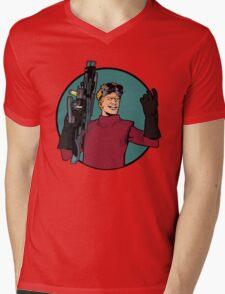 dr h Mens V-Neck T-Shirt