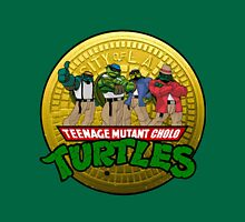 Teenage Mutant Cholo Turtles - Sewer version Unisex T-Shirt