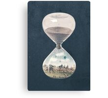 The City Where Time Stopped Long Ago Canvas Print
