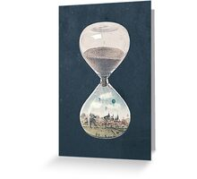 The City Where Time Stopped Long Ago Greeting Card