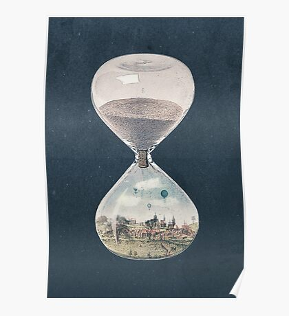 The City Where Time Stopped Long Ago Poster