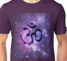 Ohm -Space Background Unisex T-Shirt