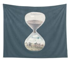 The City Where Time Stopped Long Ago Wall Tapestry