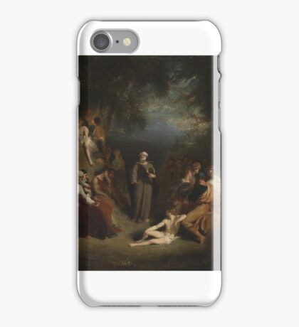 Sir Thomas Lawrence Homer Reciting his Poems  iPhone Case/Skin